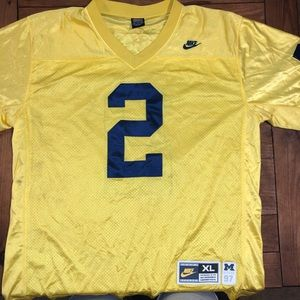 Nike retro alternate stitched Michigan jersey